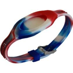 Bracelet - Bandz Bleu Blanc Rouge