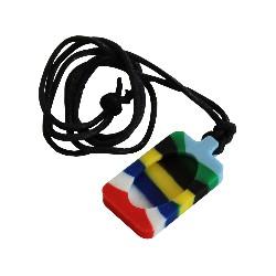 Pendentif - Necklace Multi Couleurs
