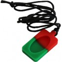 Pendentif - Necklace Vert Rouge