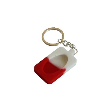 Porte Clé - Rouge Blanc
