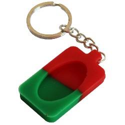Porte Clé - Vert Rouge