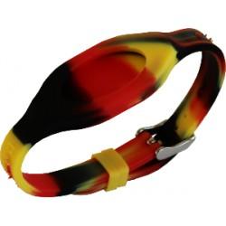 Bracelet - Bandz Rouge Jaune Noir
