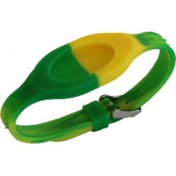 Bracelet - Bandz Vert Jaune